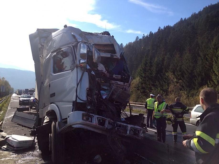 A9 Lkw Unfall