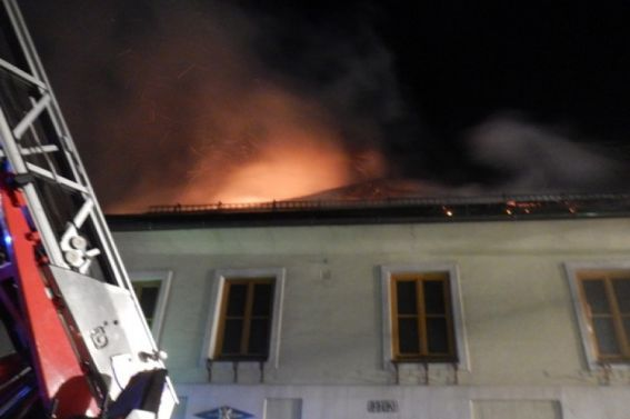 Wohnhausbrand an der Hauptstraße 24.12.2016