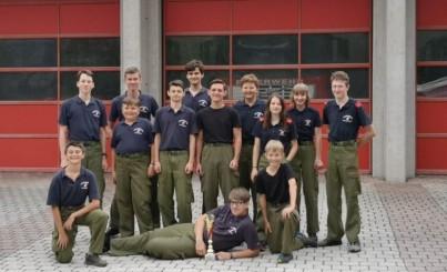 2. PLATZ beim 1. Bereichsfeuerwehrjugend-Leistungsbewerb in Selzthal