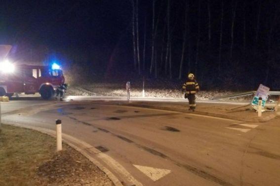 Verkehrsunfall am Kreisverkehr vom 25.03.2020