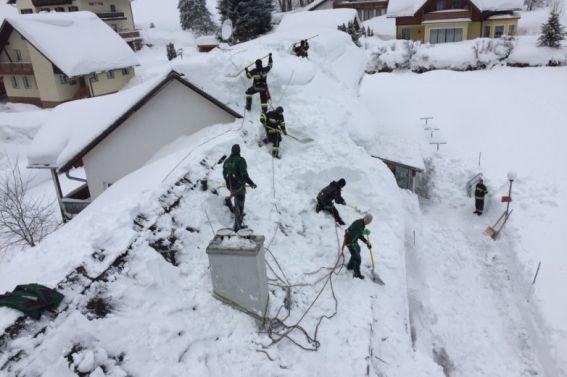 Schneeeinsatz Oppenberg am 14.1.2019