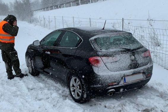 Autounfall auf der A9 am 28.2.2020
