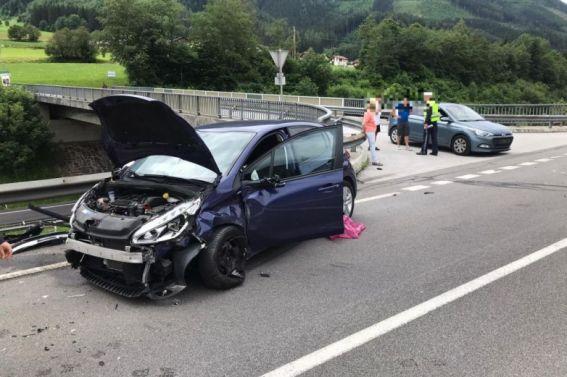 Verkehrsunfall B113 am 30.06.2020