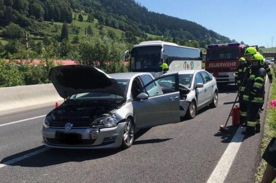 Verkehrsunfall A9 am 2.7.2018