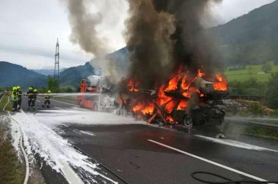 Verkehrsunfall am 06.08.2019 auf der A9